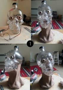 Vodka Skull Head 1
