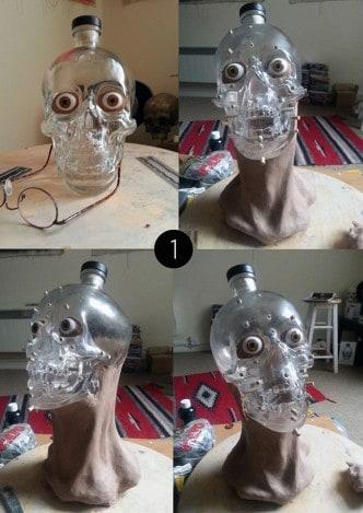 Vodka Skull Head 1